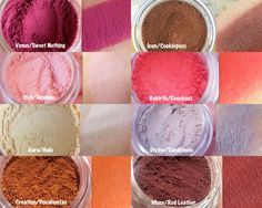 SPACE CADET Mineral Eyeshadow Palette- VENUS Palette Inspired