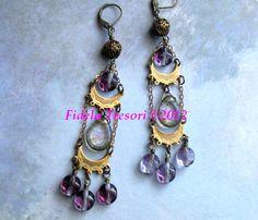 Boho Long Chandelier Earrings