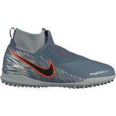 40da1649b Nike Junior Phantom Vision Academy DF TF Artificial Turf Soccer Shoe Armory  Blue Black Hyper Crimson Metallic Silver Wolf Grey-1