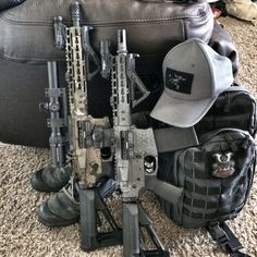 SBRs with accessories