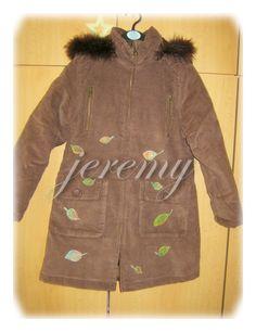 Kabátek - podzim - padající listí