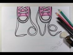 Picture  Converse Chucks Drawing