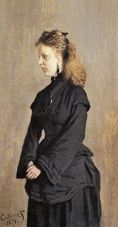 Portrait de Guurtje van de Stadt (C Monet - W 192), 1871