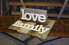 DIY Pallet Wood Sign Project another great tutorial from Interiors To Inspire in Calgary, Alberta.