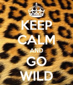 Keep Calm and pin on the wild side