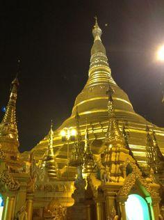 Una noche mágica en #schwedagon pagoda, Yangon