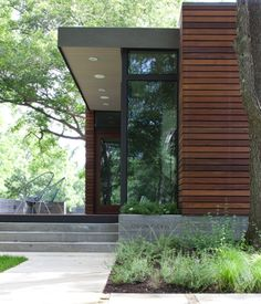 A stunning modern cabin measuring just 480 sq ft Modern Style
