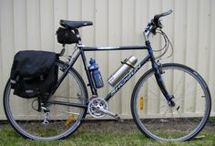 Shogun Metro SE. Gearing up for bicycle touring.