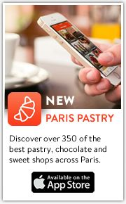 New! - Paris Pastry app - Discover over 350 of the best pastry, chocolate and sweet shops across Paris.