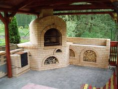 KRBY Patio, Mansions, House Styles, Outdoor Decor, Home Decor, Grilling, Fire Places, Decoration Home, Manor Houses