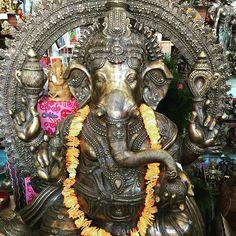Today is the Hindu holiday of Ganesha Chaturthi, the birthday of Ganesh. It…