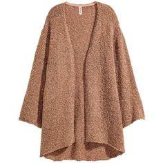 H&M - Mohair-blend Cardigan - Dark brown melange - Ladies | Fall ...