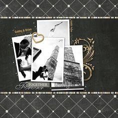 by: Gabby | Classic Wedding Digital Scrapbook Kit from www.peppermintcreative.com