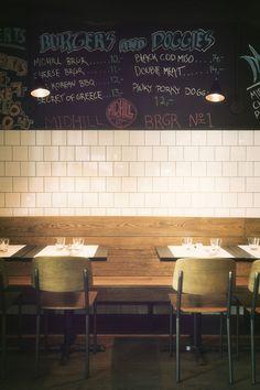 Interior Design for restaurant Midhill Helsinki. Photo Anton Sucksdorff