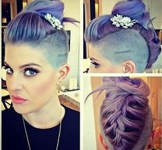 Kelly Osbourne made an appearance at BeautyCon Los Angeles this weekend, showing off her unique & individual style.