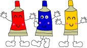 愛子園(あか・あお・きいろのものがたり)Japanese colors animated story