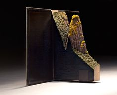 Secondhand Novels Are Carved into Extraordinary Mountainous Landscapes - My Modern Met