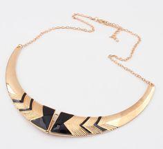 Retro Stylish Metal Necklace