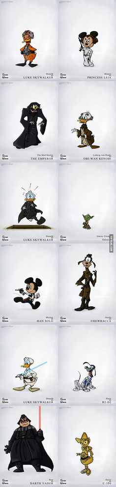 Star Wars as Disney