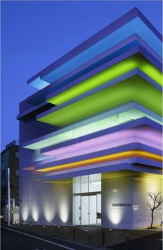 Sugamo Shinkin Bank / Shimura Branch - Tokyo, Japan. Light design.