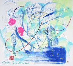 "Saatchi Art Artist Odilia Fu; Drawing, ""BEETHOVEN SONATA NO.04032015"" #art"