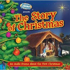 CD - The Story of Christmas - Children will enjoy this heartwarming dramatization that recounts the story of the very first Christmas. With music, songs, and engaging storytelling, you will experience the wonderful events that led up to the birth of God's Son and the story of redemption.