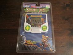 Vintage 1989 Tiger Electronic Hand Held Castlevania II Simon's Quest New SEALED | eBay