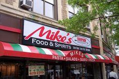 Photo of Mikes Restaurant, Somerville, Massachusetts (from http://hiddenboston.com/blogphotopages/MikesRestaurantPhoto.html)