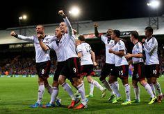 21.10.13. Palace 1 FFC 4: Kasami 'Wonder Goal' sparks Martin Jol's men to resounding victory at Selhurst Park