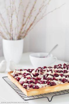 Mazurek wiśniowo czekoladowy