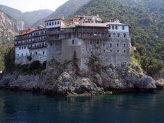 Monastery of Grigoriou Mount Athos Greece