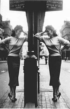 Teddy girl London UK circa 1956