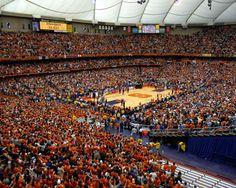 Syracuse Orange: Carrier Dome Picture at Syracuse Orange Photos