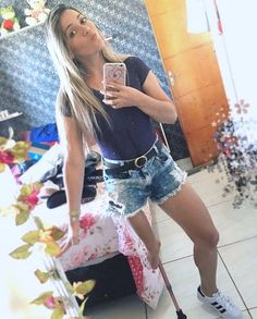 Short Legs, Denim Skirt, Amp, Unique, Sexy, Skirts, Beauty, Women, Fashion