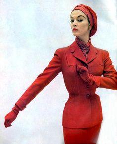 Jean Patchett, 1950s.