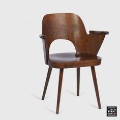 Located using retrostart.com > Dinner Chair by Oswald Haerdtl for Ton Czechoslovakia