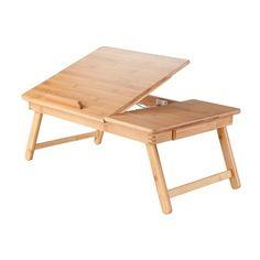 Winsome Wood 80623 Baldwin Lap Desk with Flip Top
