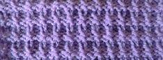 knit pattern * KNIT-PURL-FANTASY STICH *