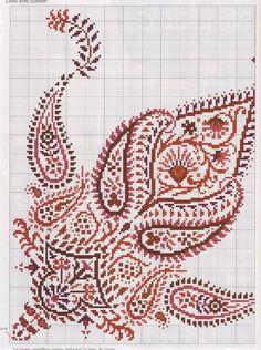 Вышивка в индийском стиле