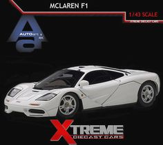 Exceptional AUTOART 56003 1:43 MCLAREN F1 SUPERCAR WHITE DIECAST MODEL CAR https://www.minitoycars.com/product/autoart-56003-143-mclaren-f1-supercar-white-diecast-model-car/ #Diecast #Matchbox #Mclaren