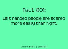 Any left handed people who can verify this for me?