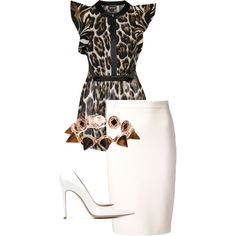 34/125 by fel3 on Polyvore featuring polyvore fashion style Just Cavalli Lanvin Gianvito Rossi Eddie Borgo