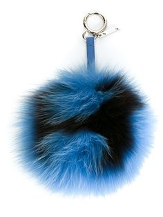 fendi  bagbugs  charms  fur  abcharms  blue  women www. b9094f9676643