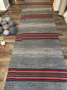 HIRSIAITTA SARJA PITKÄT 80 x 6.40m x 2 kpl Woven Rug, Woven Fabric, Loom, Hand Weaving, Carpet, Rag Rugs, Afghan Crochet, Flooring, Ottomans