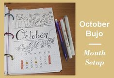 Month Setup Bullet Journal - December - Easy steps to add the monthly spread to your Bullet Journal to make of this month the best one of Bullet Journal Diy, Bullet Journal Writing, Bullet Journal Inspiration, Journal Ideas, Weekly Goals, Make Blog, Mood Tracker, Months In A Year, Starting Your Own Business