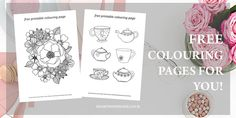 Do you love colouring as much as I do? Check out these gorgeous free colouring pages for adults - you will love them!