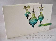 Resultado de imagen de watercolor christmas cards