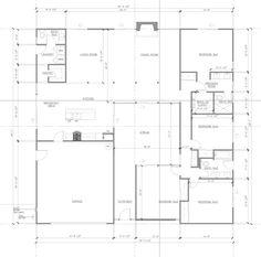 Desert Eichler - Floor Plan Mcm House, Retro Room, Mid Century House, Modern Buildings, Palm Springs, Mid-century Modern, House Plans, Floor Plans, Diagram