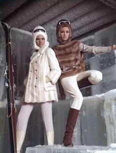 Apres-ski bunnies, 1963