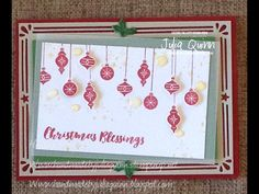 handmade by Julia Quinn: Be Merry with Carols of Christmas CTC#138 Holidays